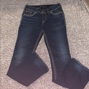 Silver brand mid bootcut jeans
